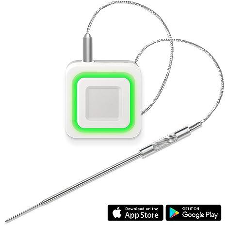 Lavatools CL1 Carbon Lite Bluetooth Remoto inalámbrico Carne Termómetro para Horno, Parrilla, y para