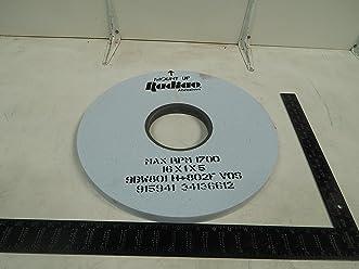 "Radiac A102954 White Alum Oxide Surface Grinding Wheel-SZ 6/"" x 1//2/"" x 1-1//4/"""