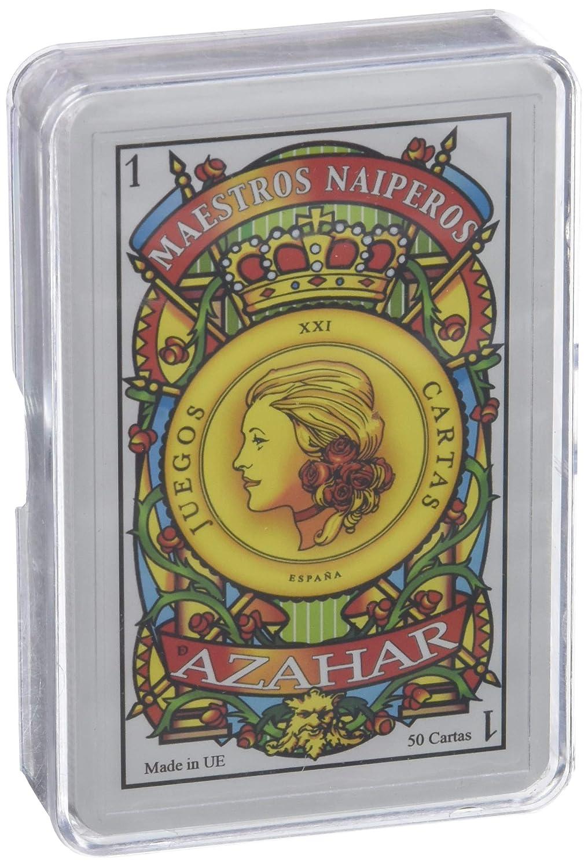 Maestros Naiperos- baraja, española, 50, Cartas, Estuche de ...