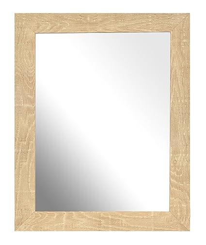 Inov8 8 x 15,24 cm Marco para espejo tradicional de madera, 2 ...