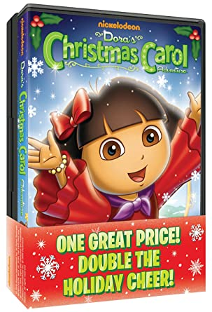 Amazon.com: Dora the Explorer: Dora's Christmas Carol Adventure ...