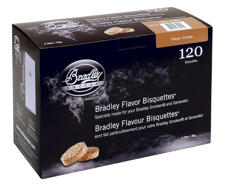 Bradley Smoker Maple 120 Pack BTMP120