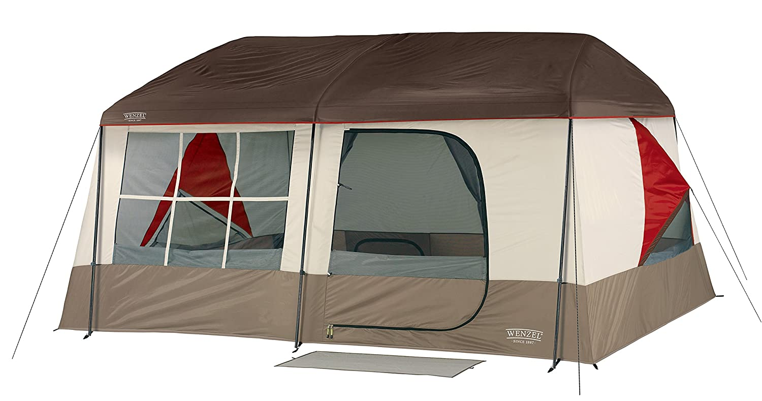 Wenzel Kodiak Family Cabin Dome Tent (Tan/Red): Amazon.ca: Sports U0026 Outdoors