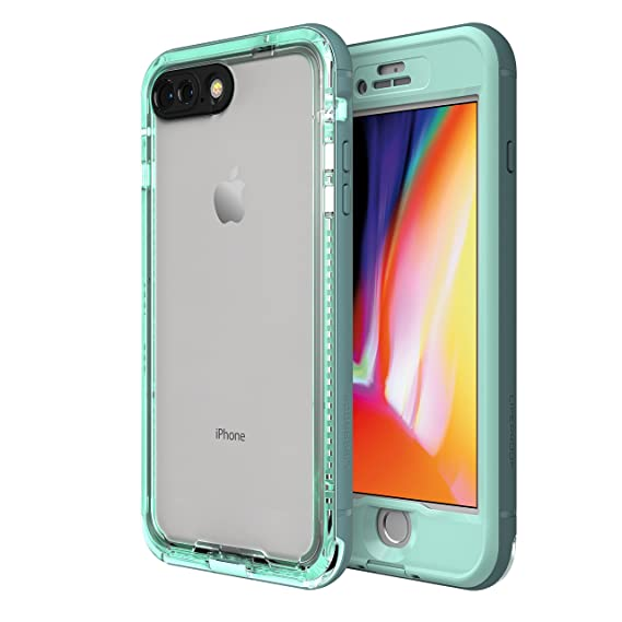 huge discount 98224 6417b LifeProof NÜÜD Series Waterproof Case for iPhone 8 Plus (ONLY) - Retail  Packaging - Cool Mist (Aqua SAIL/Aquifer/Clear)