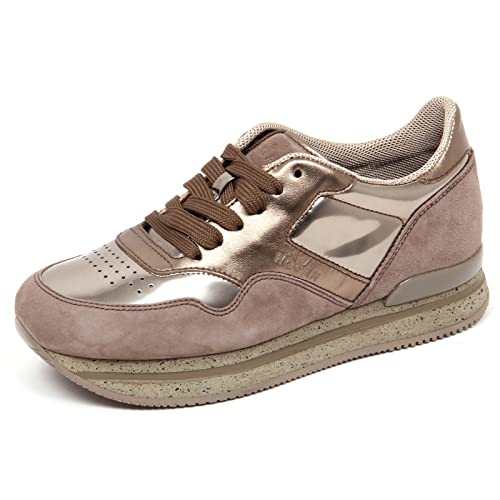 Scarpe Sneaker Hogan Shoes 10% H222 Italy Donna Marrone HXW2220M46875P956G
