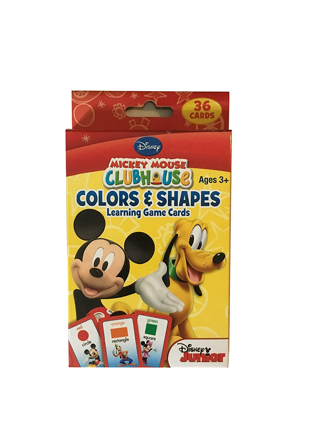 Simple Brilliance Mickey Mouse Clubhouse Flash Cards Learning Game Cards Includes Numbers /& Counting and Colors /& Shapes and Mickey Mouse Clubhouse Stickers