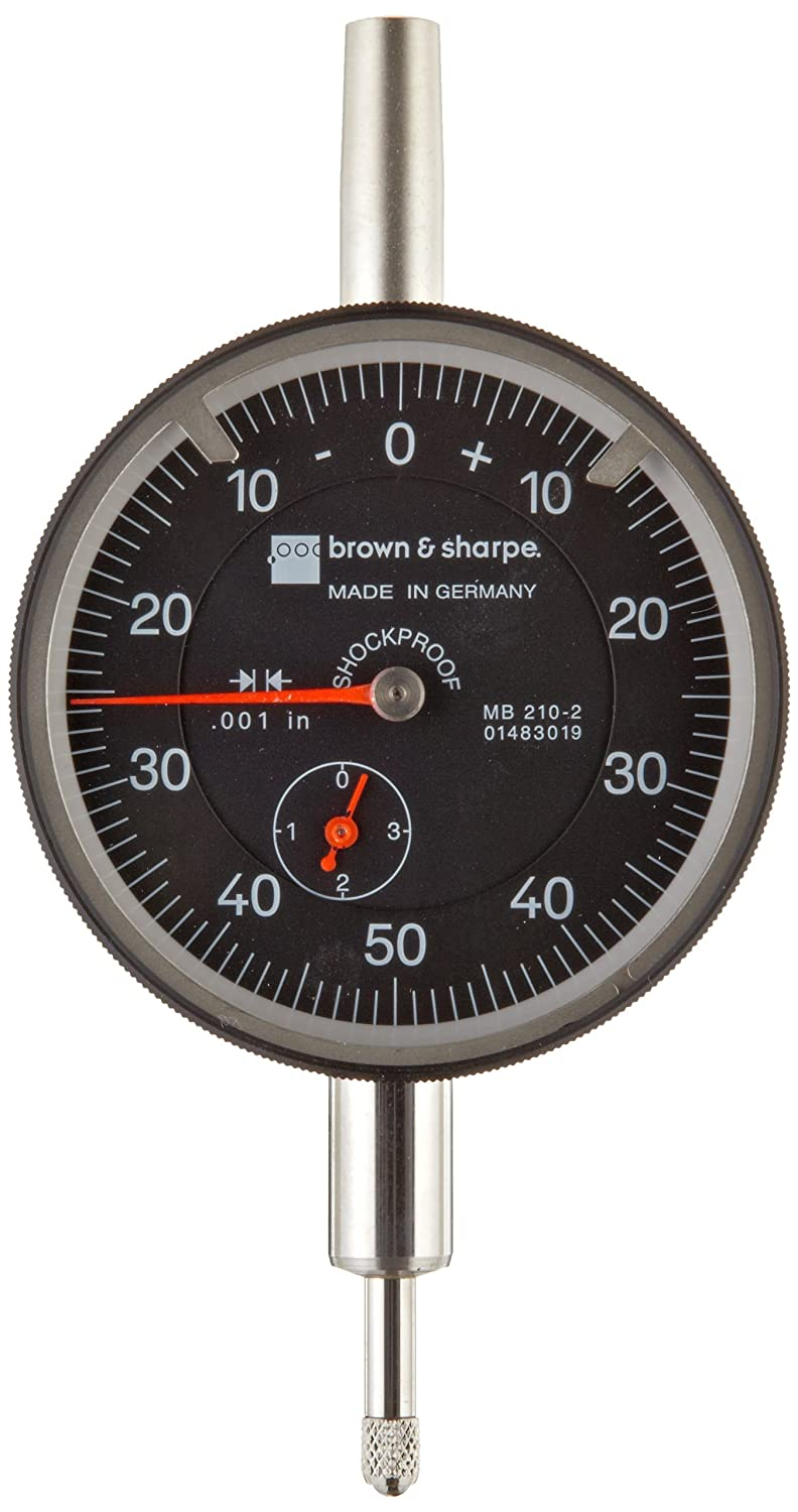 TESA BROWN /& SHARPE 14.82022 Dial Indicator,0 to 1 In,0-100