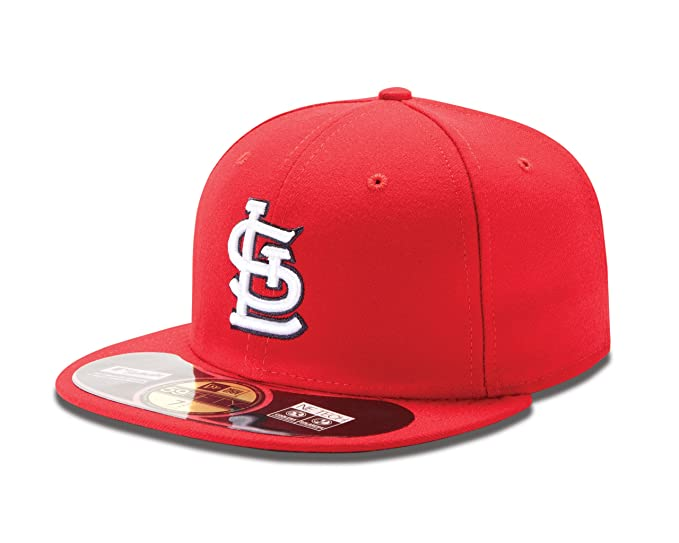 big sale 52b90 0e133 New Era MLB St. Louis Cardinals Authentic On Field Game 59Fifty Cap, 6 7