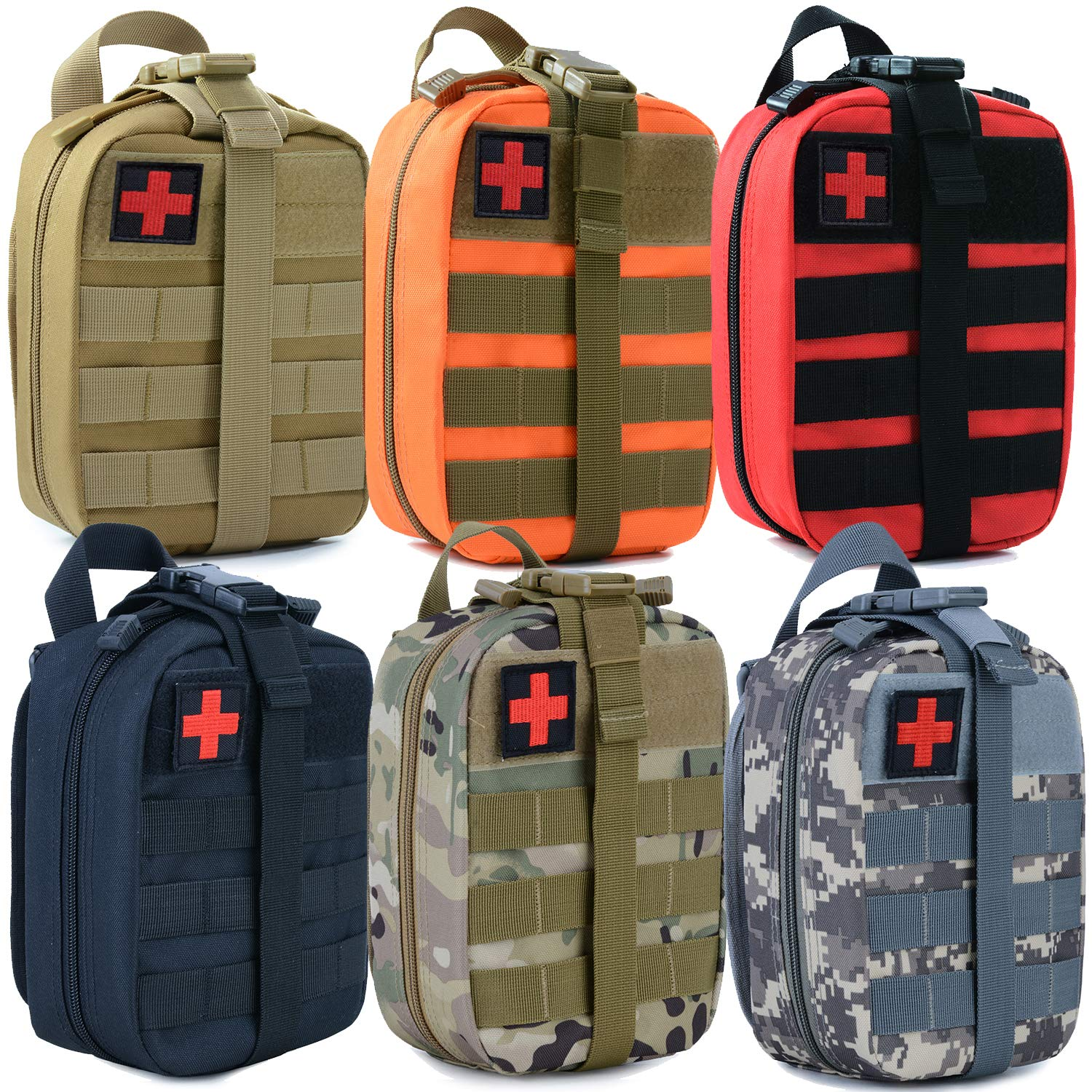 MEWAY Tactical MOLLE EMT Medical First Aid IFAK Pouch Molle Pouch Tactical Pouches Utility Pouch Tactical Accessory Pouch