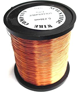 500g 0.063mm Enamelled Copper Wire. 42AWG Guitar Pickup Wire ...