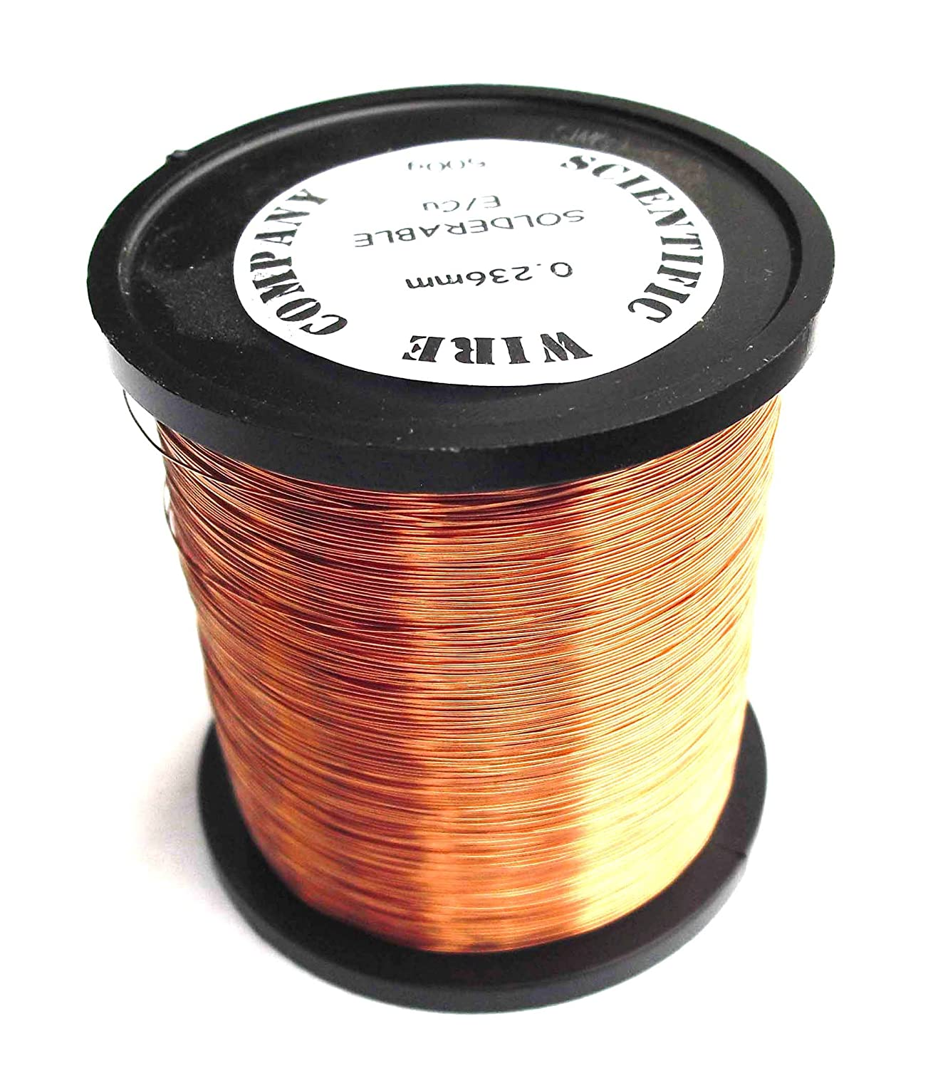 emailliert Kupfer spinndrahtes 0, 25 mm 33 SWG 30 AWG 500 Gramm lö tbar SCIENTIFIC WIRE COMPANY