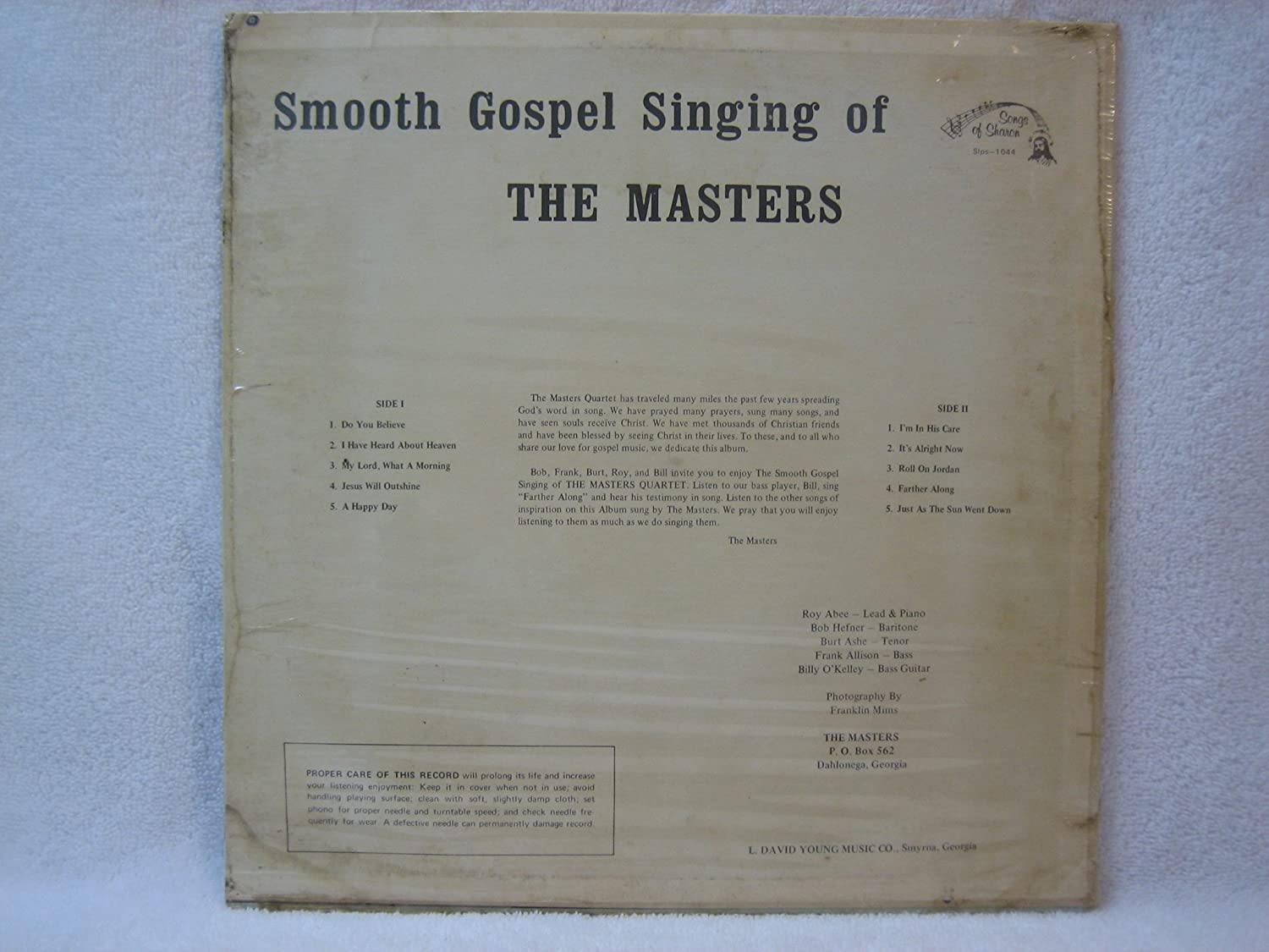 The Masters Quartet - Smooth Gospel Singing by the Masters