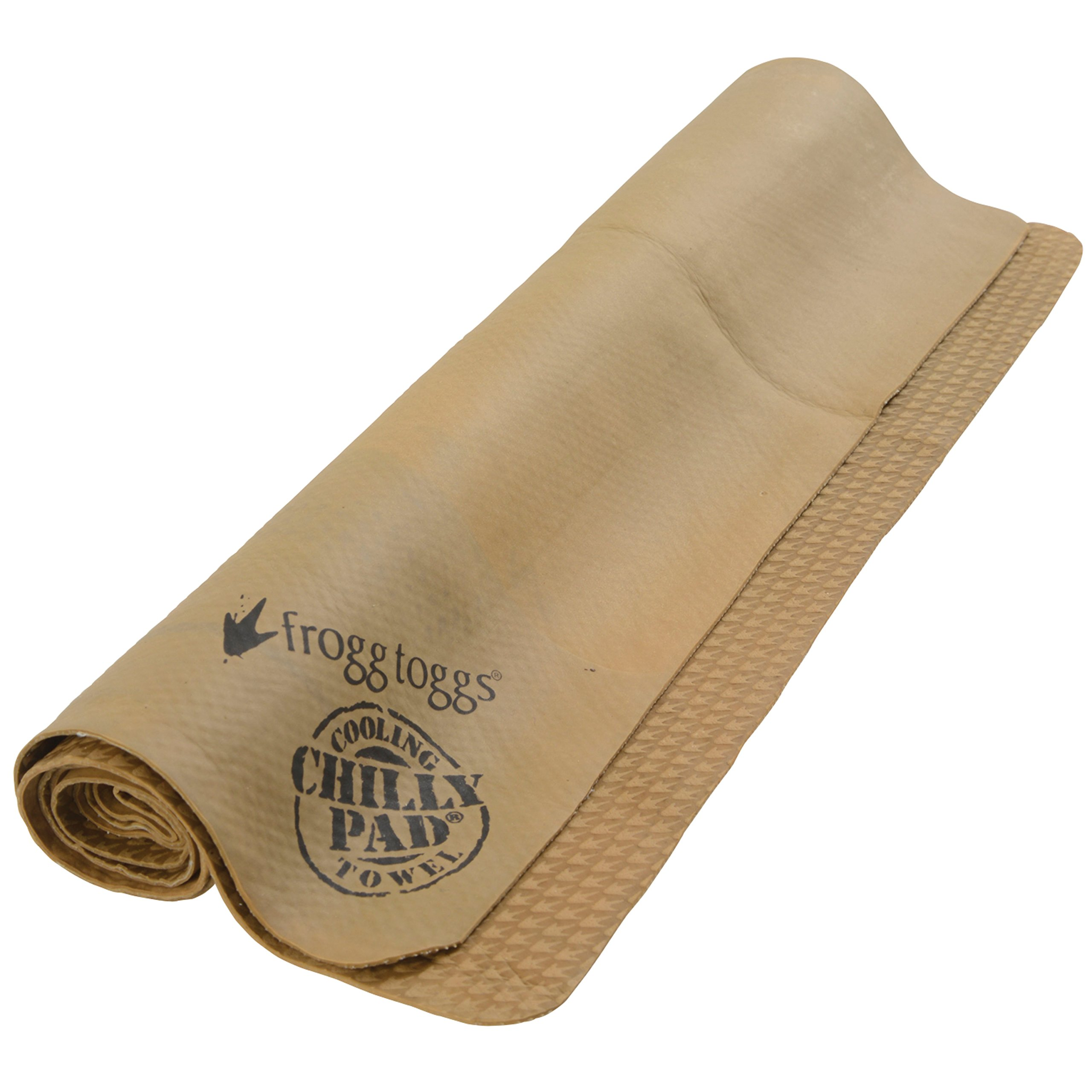 Frogg Toggs Chilly Pad Cooling Towel, Sand, Size 33'' x 13''
