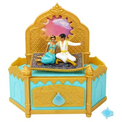Aladdin Disney Musical Jewelry Box with Ring to Wear!: Toys & Games