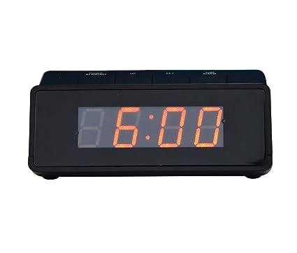 Kwanwa digital LED de alarma del reloj, con pilas solamente ...