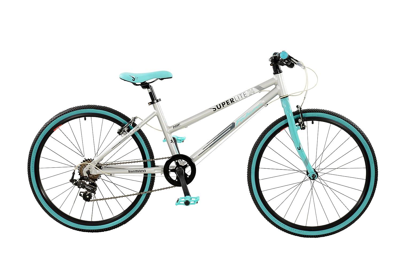 Falcon Girl Superlite Bike Silveraqua Size 24 Amazoncouk