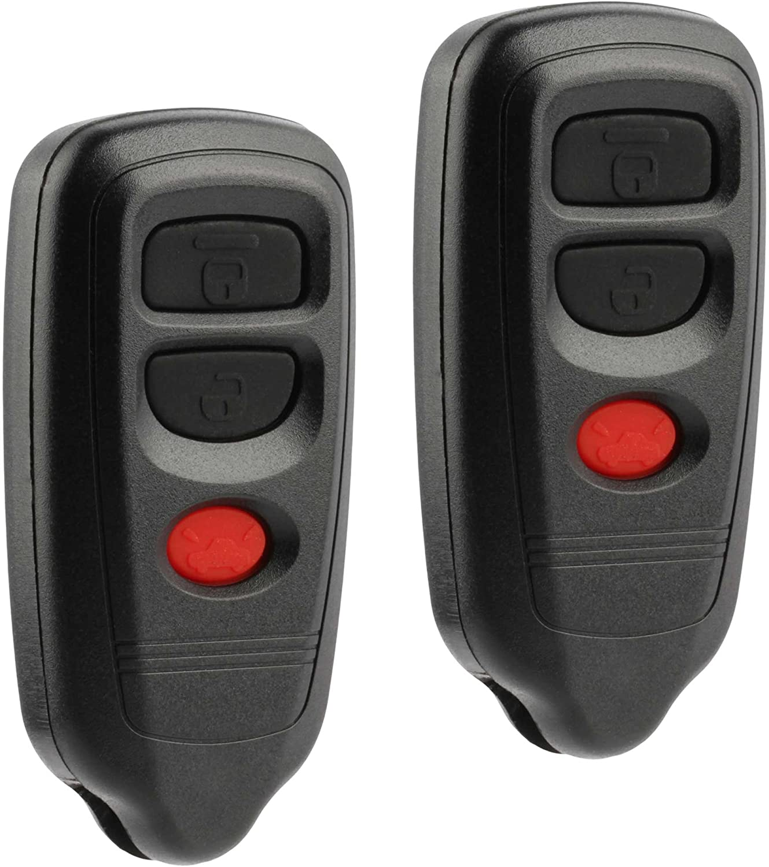 2 Car Key Fob Keyless Remote For 2003 2004 2005 2006 2007 2008 Isuzu Ascender