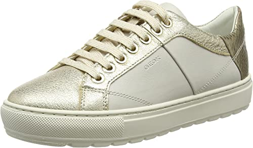chaussures geox femme amazon,Geox D Breeda A,Sneakers Basses