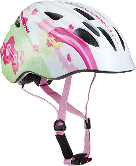 Cratoni Akino – Casco para Bicicleta de niñas, niña, Akino, Fay ...