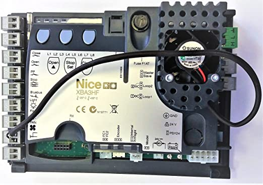Nice XBA3HF - Placa de control electrónica para M-Bar L-Bar: Amazon.es: Bricolaje y herramientas