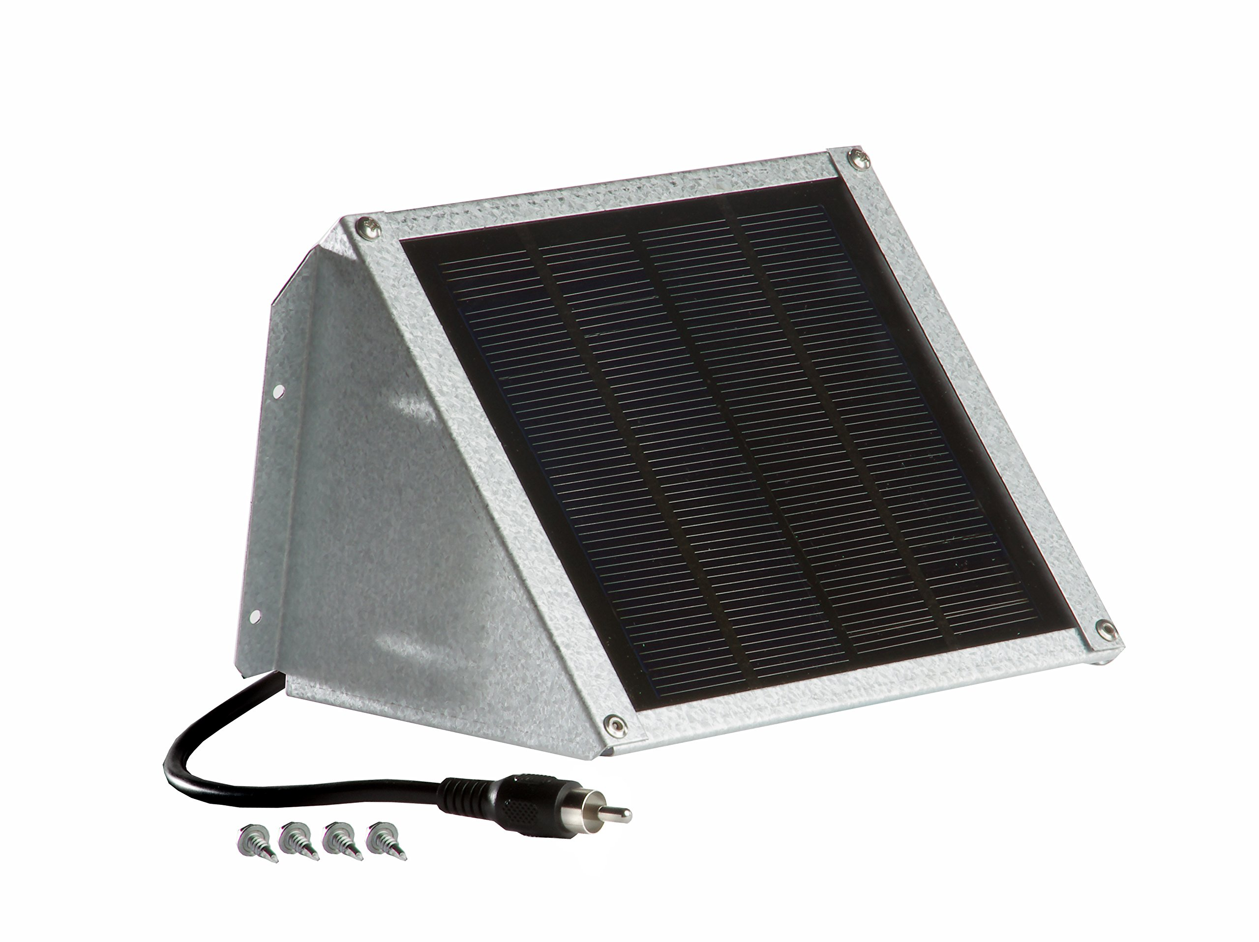 Sweeney Feeders SX212-GA Solar Charger for Directional Feeders -12 Volt 2 Watt, Galvalume Finish