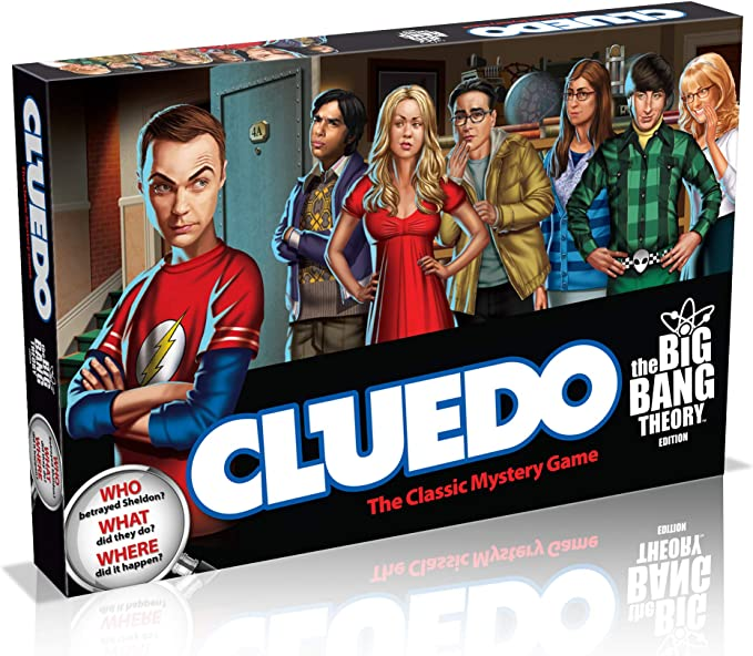 Big Bang Theory Cluedo Board Game: Amazon.es: Libros en idiomas ...