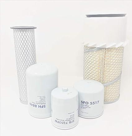 Amazon com: Bobcat Filter Kit S130 S150 S160 S175 S185 S205
