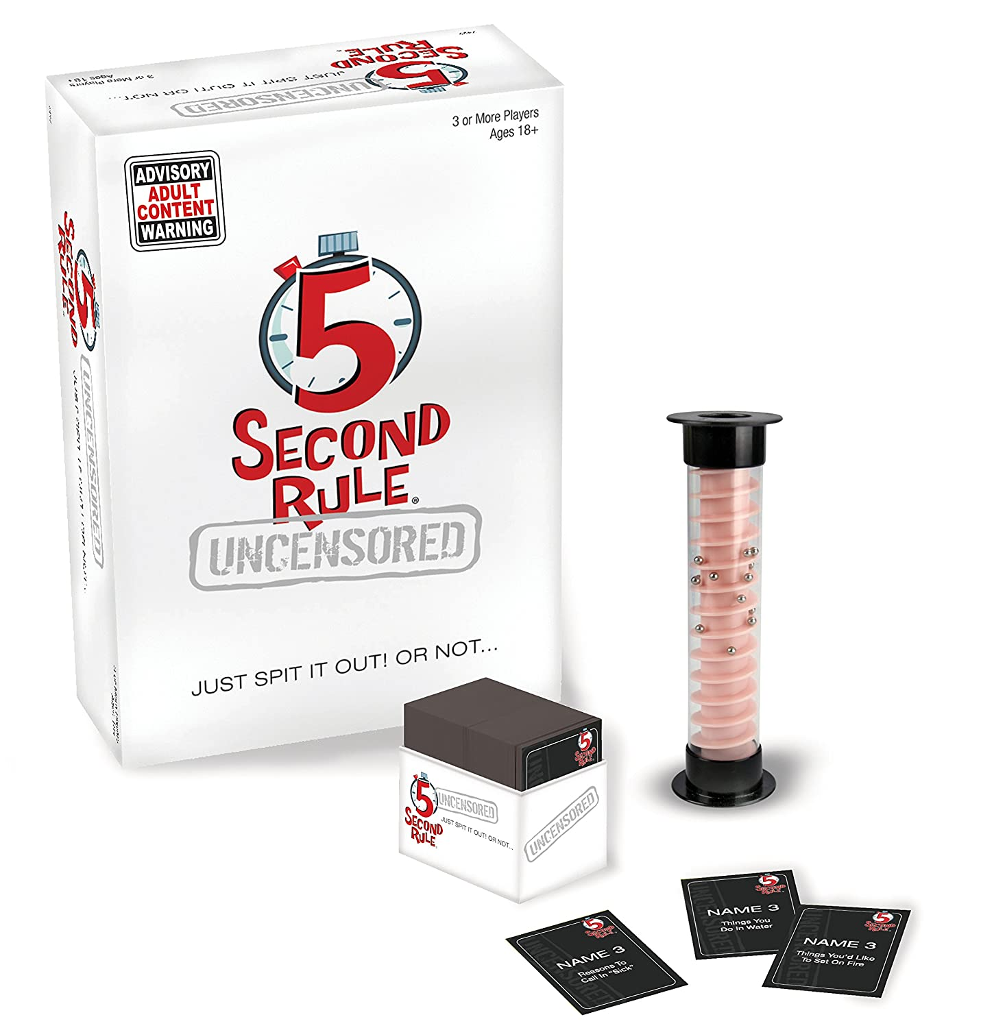 5 second rule uncensored adult board game