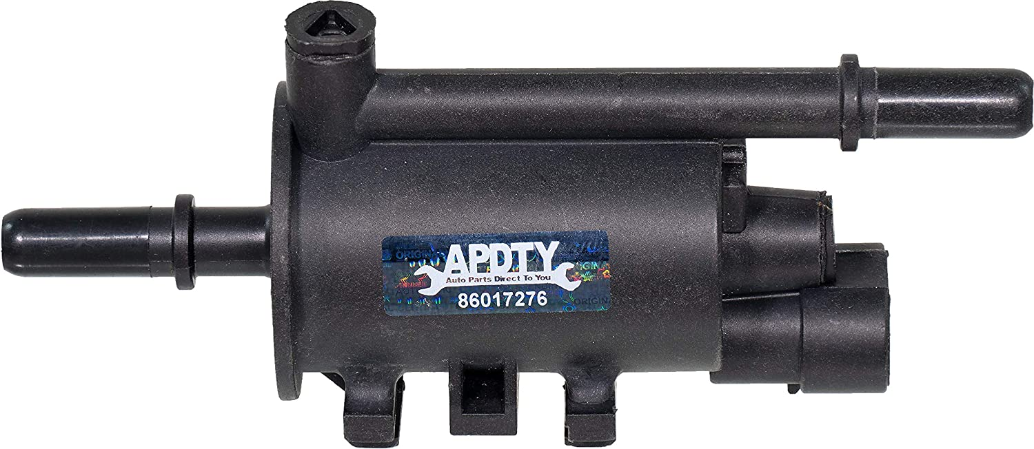 APDTY 022146 Intake Manifold Mounted Evaporative Emissions Fuel Tank Vapor Canister Purge Valve Solenoid (Replaces 214-641, 1997278, 1997301, 1997286, 96553403, 8019972860)