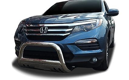 Fits: 2004-2017 Honda Odyssey Broadfeet Rear Bumper Guard Double Pipe