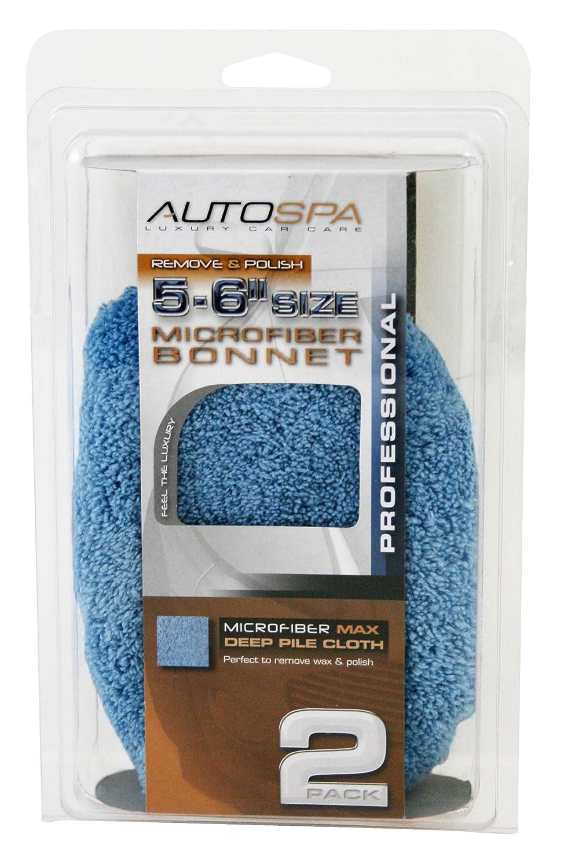 "AutoSpa 40406AS Microfiber 5-6"" Polishing Bonnet"