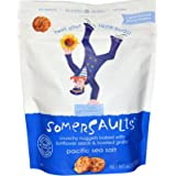 Somersaults - Crunchy Nuggets Sunflower Seed Snacks Pacific Sea Salt - 6 oz.