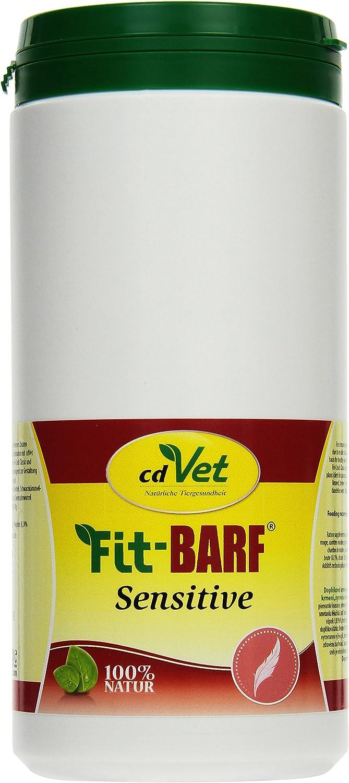 cdVet Naturprodukte Fit-Barf Sensitive 700 g - Dog & Cat - Grain-Free - Balanced Nutrition in Raw Feeding - Pancreas, Kidney, Liver, Reduction Diets - Vitamins - Barf -