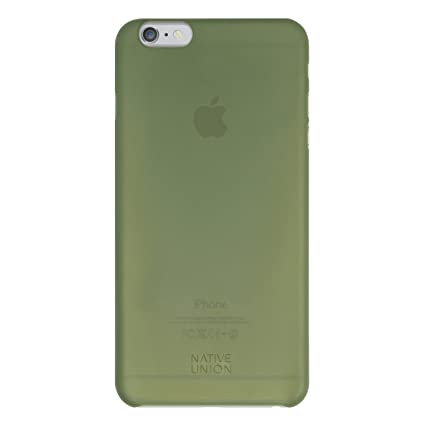 2d6dc99617f Native Union CLIC Air - Funda ultrafina semitransparente para iPhone 6  Plus, verde oliva: Amazon.es: Electrónica