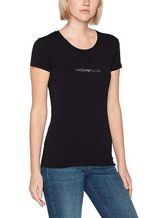 Emporio Armani Women s T-Shirt  Amazon.co.uk  Clothing 94dc5341b3