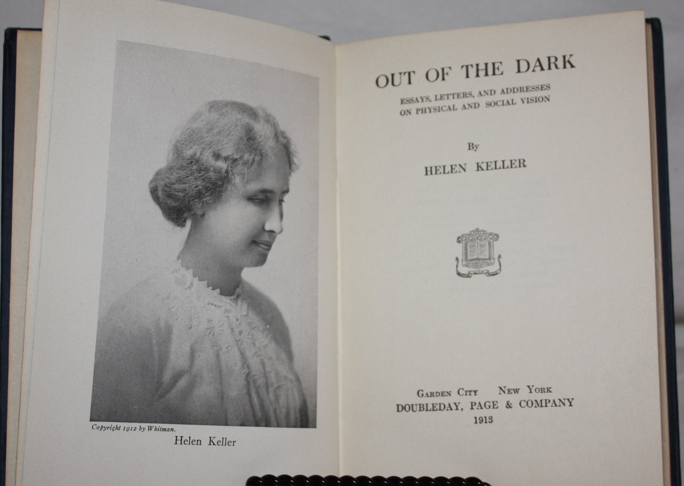 out of the dark helen keller helen keller com books