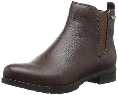 Rockport TRISTINA CHELSEA - Botines chelsea de cuero mujer, marrón - Braun (COACH), 8 UK D: Amazon.es: Zapatos y complementos