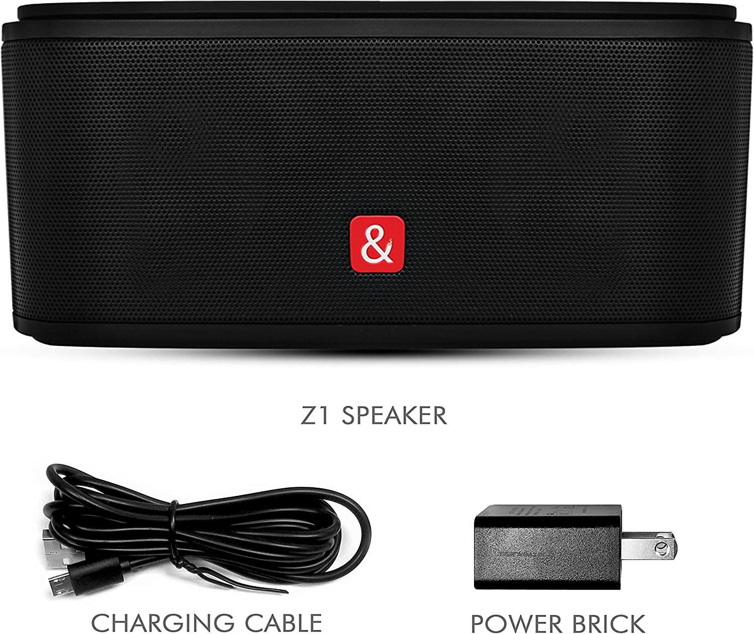 Kempler /& Strauss Z1 Wireless Bluetooth Speaker TF Card HD Sound Ultra Long Play Time Battery iPhone//Android Compatible for Home or Travel Line-in Mega Bass Designed in Germany