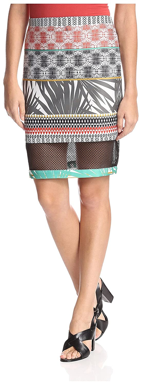 YASB Women's Mesh Inset Skirt