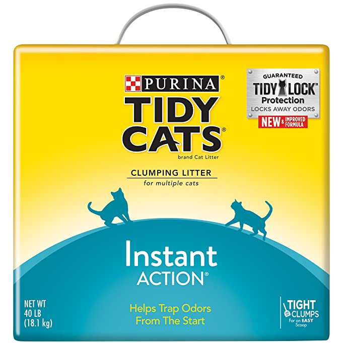 Purina Tidy Cats Instant Action Litter - (1) 40 lb. Box