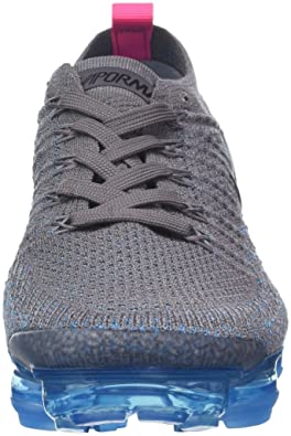 Amazon.com | Nike Womens Air Vapormax Flyknit 2 Gunsmoke/Black-Blue Orbit-Pink Blast 942843-004 (Size: 7.5) | Fashion Sneakers