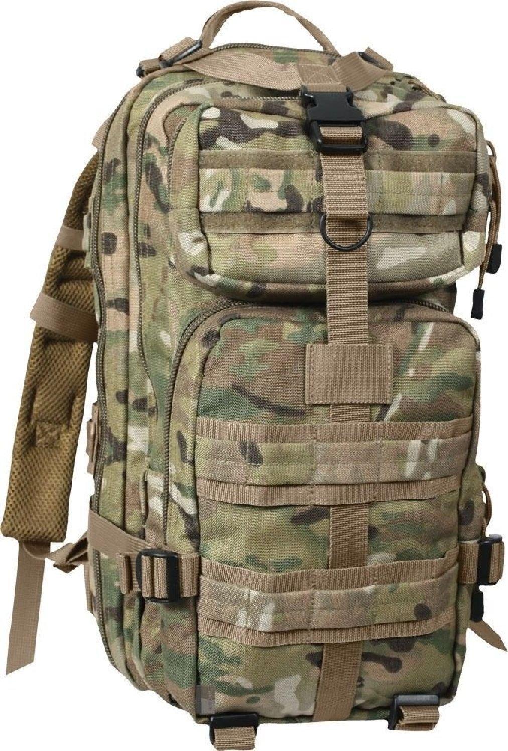 Tactical Medium Transport PackミリタリーバックパックレベルIII assaultバッグ B07DS6N3L4 Multi Cam