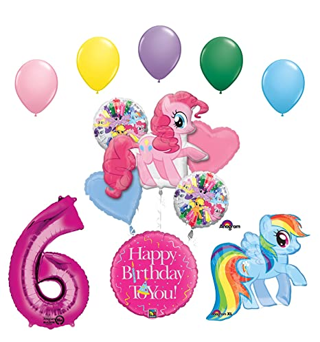 Amazon My Little Pony Pinkie Pie And Rainbow Dash 6th Birthday