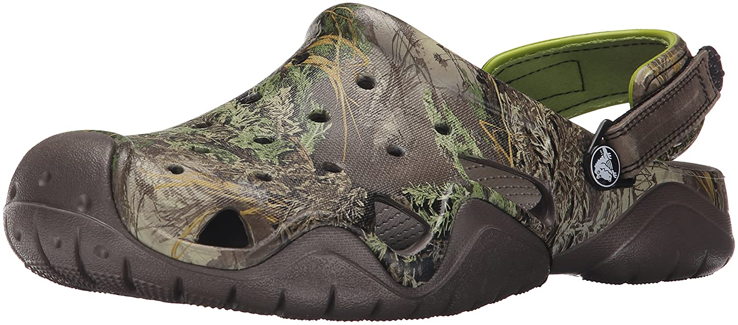 Crocs Men's Swiftwater Realtree Max-1 Clog Mule