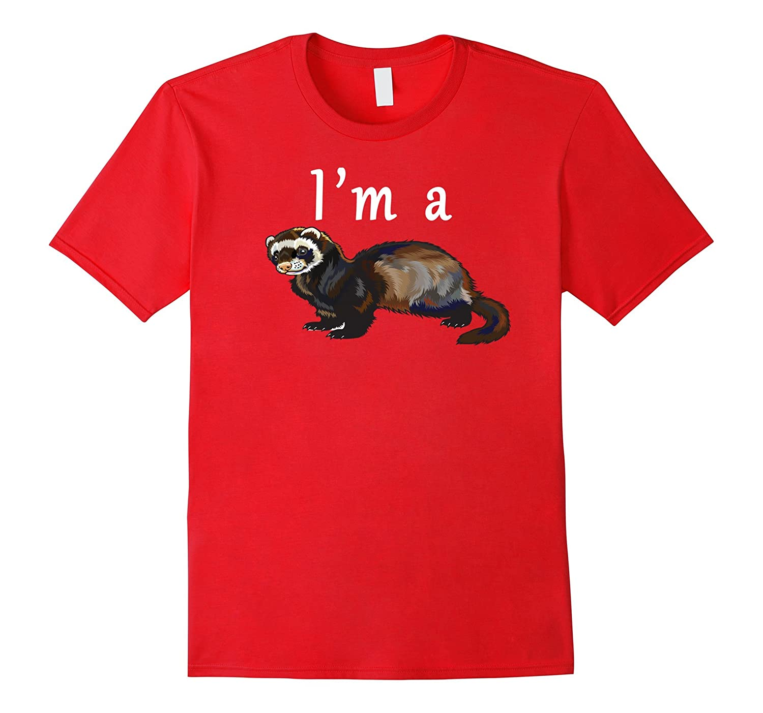 Im a ferret shirt - Ferret lovers tshirt for boys and girls-RT