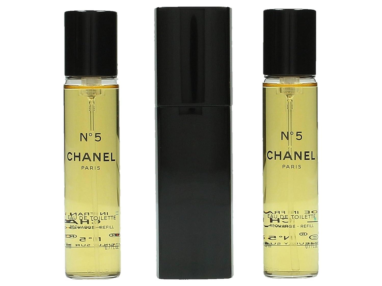 Chanel Nº 5 Eau de Toilette Vaporizador De Sac 3X20 ml: Amazon.es