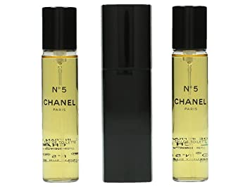 f5ef228fec87 Buy Chanel No.5 EDT Purse Spray And 2 Refills (Limited Edition)  3x20ml 0.7oz Online at Low Prices in India - Amazon.in