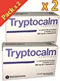 Tryptocalm - Equilibre de L'humeur - stress - Nervosité - Troubles du sommeil - Boite de 30 Comp - Lot de 2 boîtes
