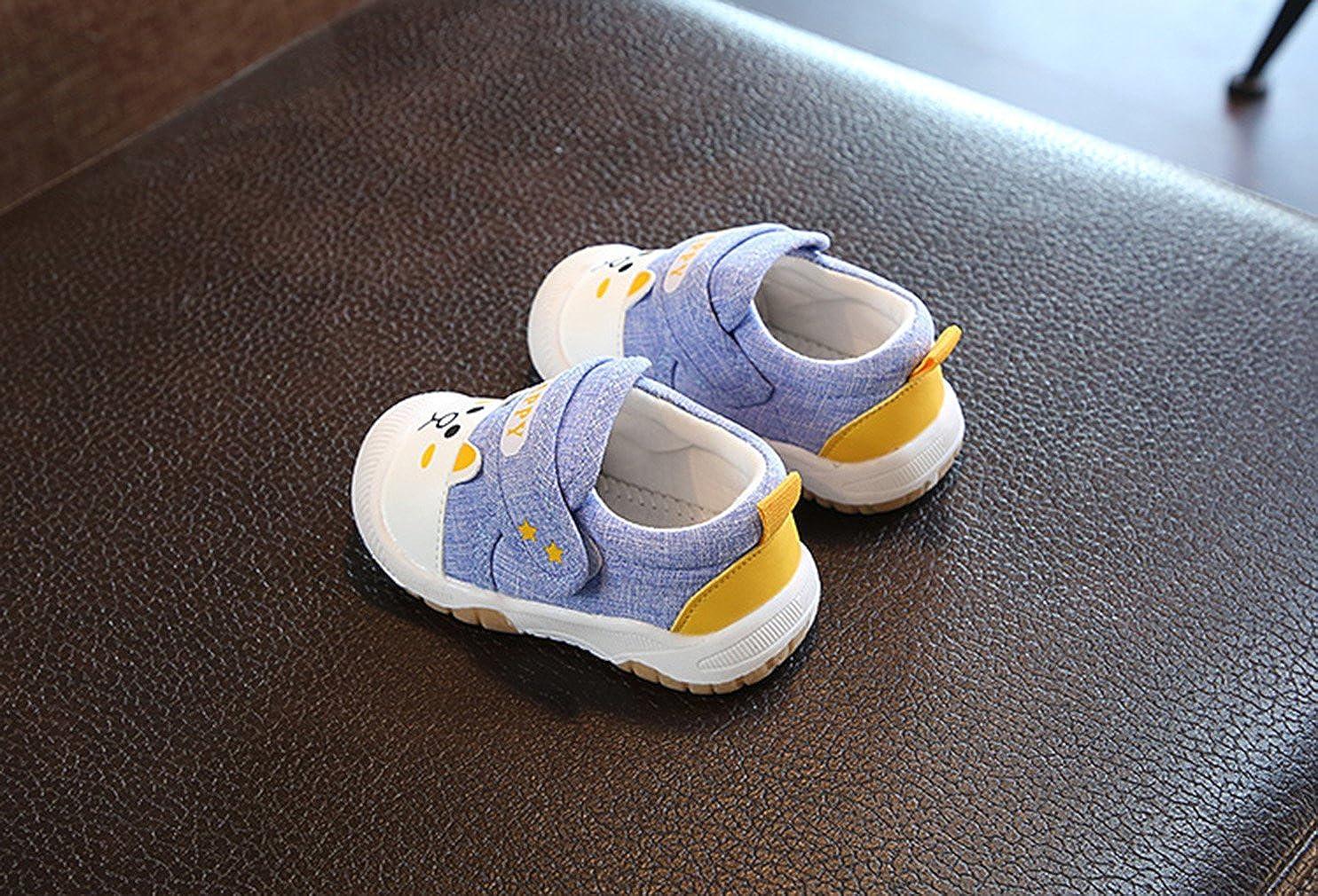 c128efba0 GEMVIE Zapatos Infantiles de Bebes Unisex con Suela Primeros Pasos Azul  Talla 23 Longuitud Interior 14.5cm  Amazon.es  Zapatos y complementos