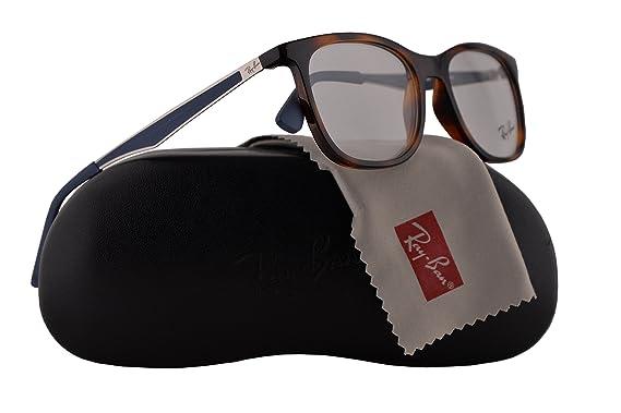 87ce36c71c Ray Ban RX7078 Eyeglasses 51-18-145 Shiny Light Havana 5599 RX 7078   Amazon.co.uk  Clothing